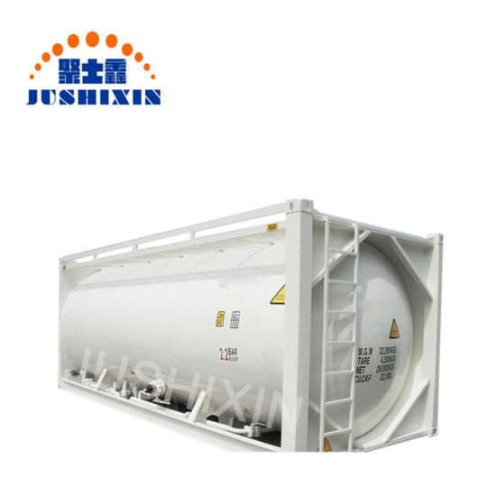 Hot Sale 20FT ISO Bulk Coal Cement Powder Tank Container pictures & photos