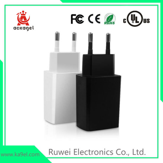 2A Mobile Phone USB Charger Adapter with Ce RoHS