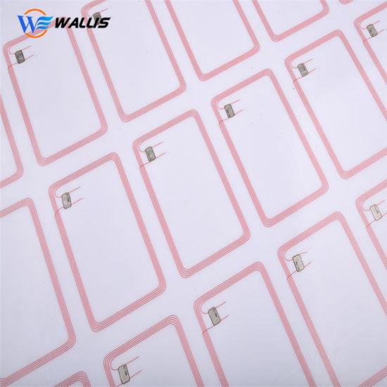 A4 Hf13.56MHz MIFARE Classic 1K RFID Smart Card 2X5 Layout Em4100 RFID Prelam PVC Inlay Sheet Smart Card Material Credit Card Size