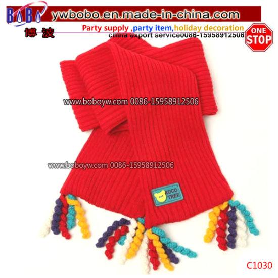 Polyester Scarf Buff China Yiwu Export Agent Long Headscarf Shawl School Bank Scarf (C1030)