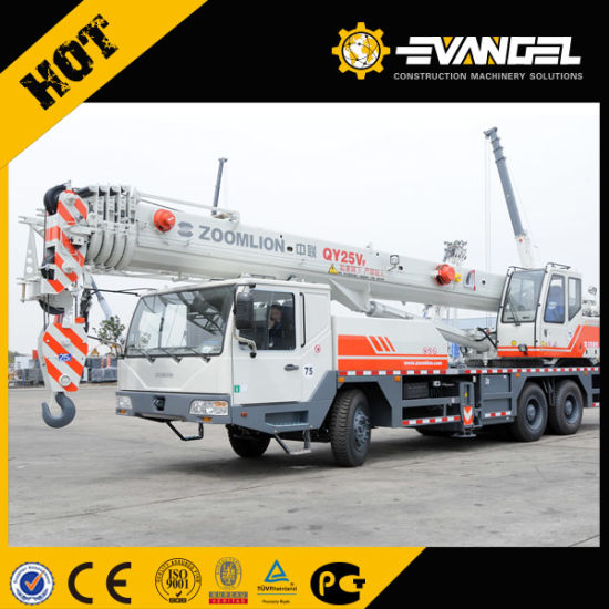 High Efficiency Zoomlion 25 Ton Mobile Truck Crane Qy25V552