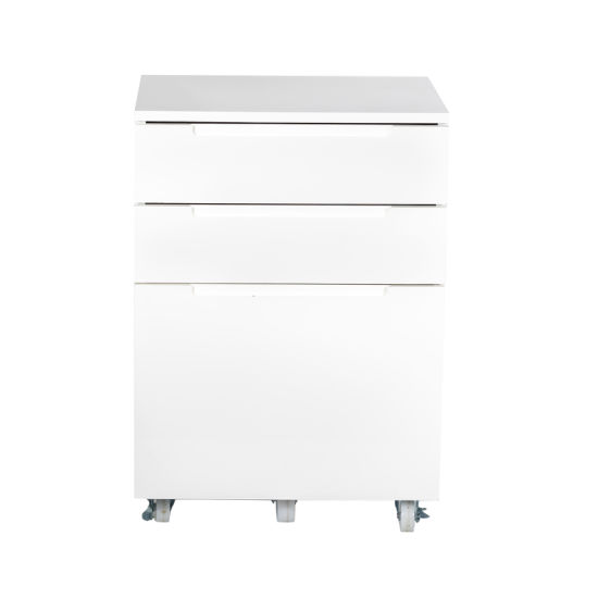 Office Manufacturer Movable 3 Drawer Filling Cabinets