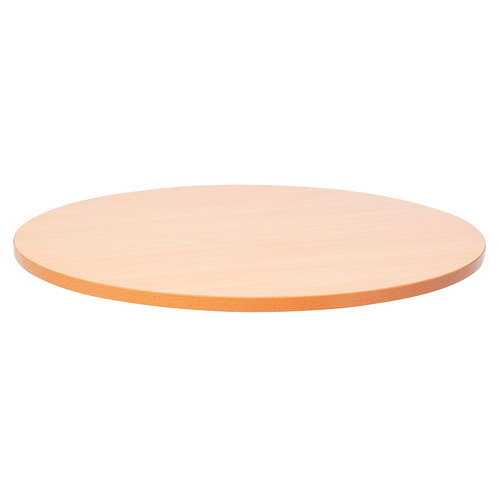 Beech Color 800X800mm Round Shape Melamine MDF or Particle Board Table Top pictures & photos
