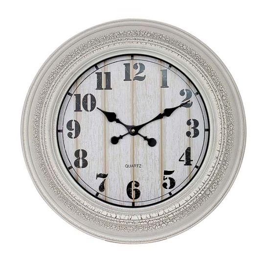 Super Big Round Grey Arabic Digital, Big Round Clock
