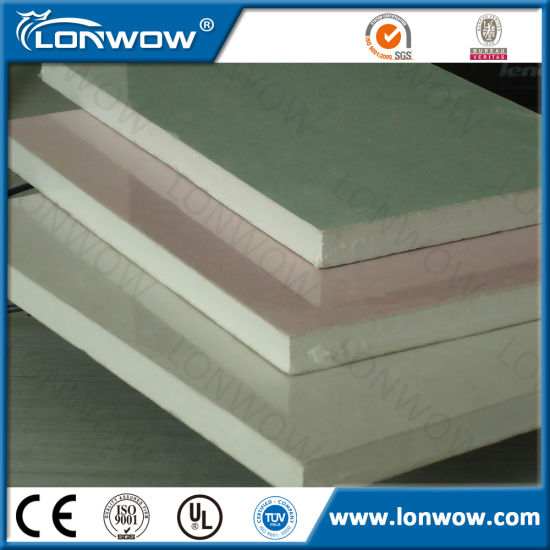High Quality Soundproof Gypsum Board pictures & photos