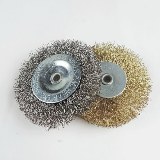 Powerful Industrial Steel Wire Wheel Brushes pictures & photos