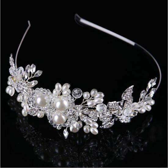 China Pearl Crystal Decoration Handmade Bridal Fashion Jewelry