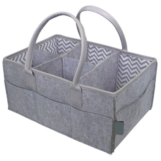 Custom Durable Tote Nappy Bag Organizer Diaper Caddy pictures & photos