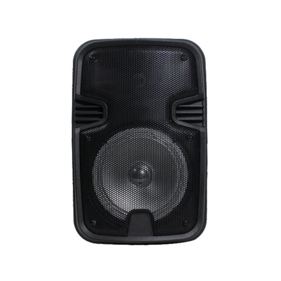 as-6 Portable 6.5inch Battery Speaker Active Amplifier Bluetooth USD FM Line Input OEM Guangzhou