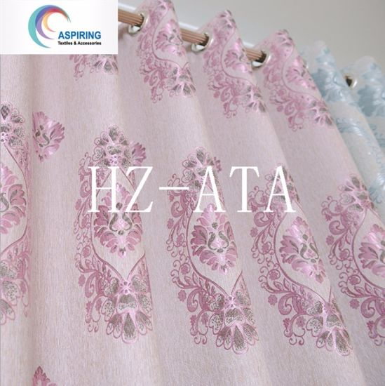 100% Polyester Upholstery Curtain Fabric Jacquard for Furniture Factory