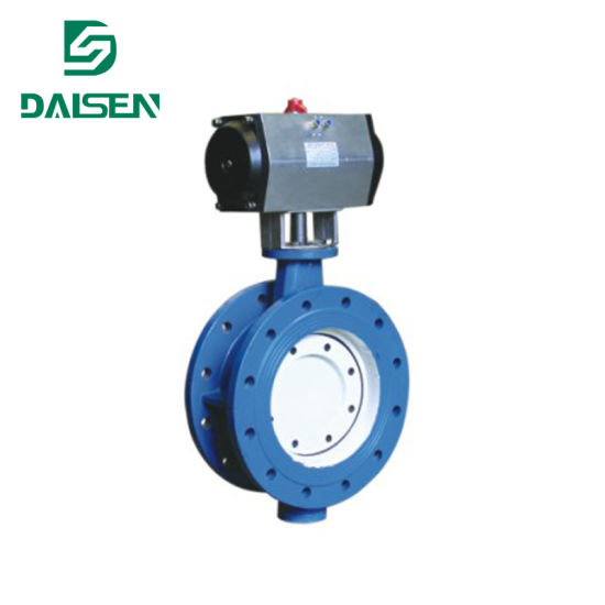 Double Eccentric Sealed Butterfly Valve