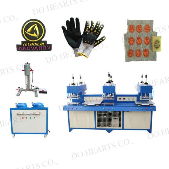 Liquid Silicone Logo Label Tag Forming Machine for Hat/Garment/Glove/Cloth Fabric