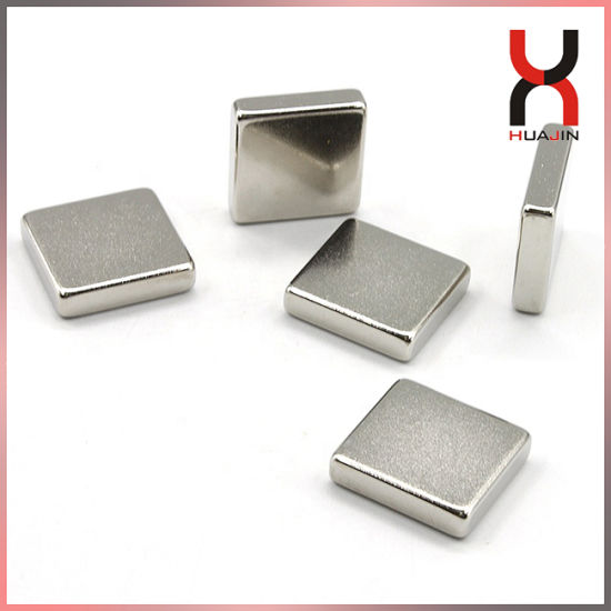 NdFeB Magnetic Material Block Magnet Cube Magnet Rectangle Magnet