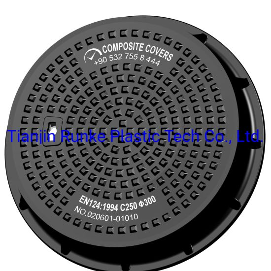 High Quality SMC D400 Round Watertight BS En124 Standard Composite Manhole Cover