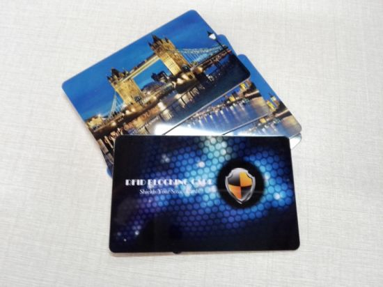 Wholesale Cheap Price Customized  Anti  Theft  RFID  Blockingcard