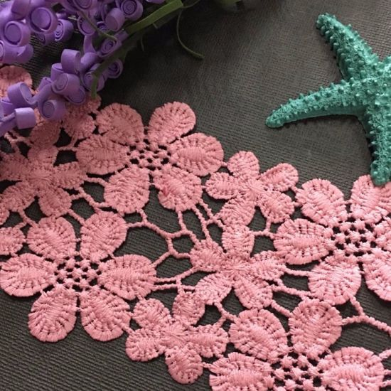 China High Quality Cotton Crochet Lace pictures & photos