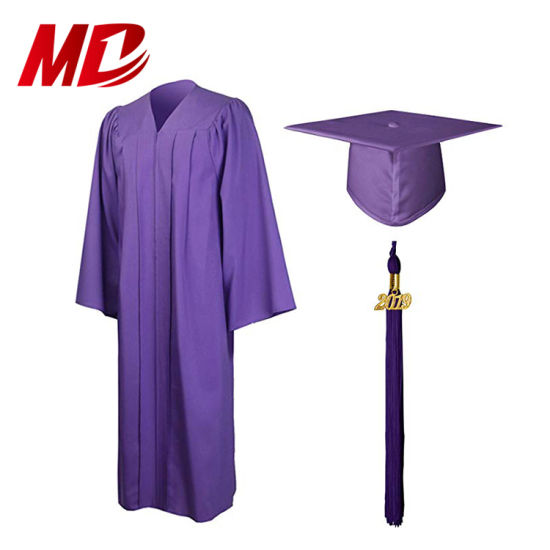 4-Piece WHITE GRADUATION GOWN or CHOIR GOWN Pink Dress /& Cap fits American Girl