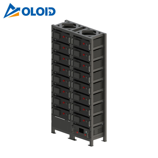 81.92kwh Solar Rechargeable Li-ion LiFePO4 Lithium Storage Battery with BMS