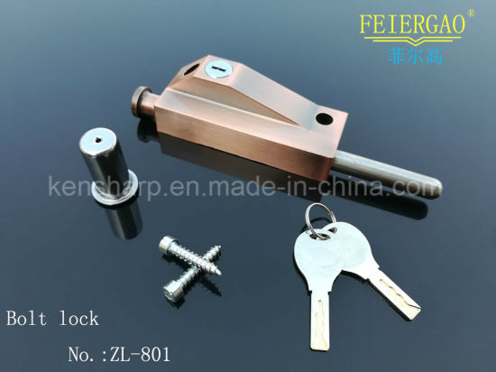 Zl-801 Beautiful Bathroom Safe Lock Dead Bolt Lock pictures & photos