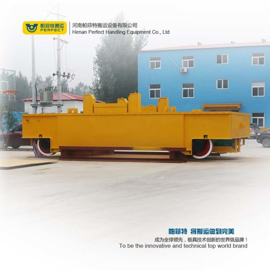 Large Tonne Ladle Transport Trolley for Steel Industry pictures & photos