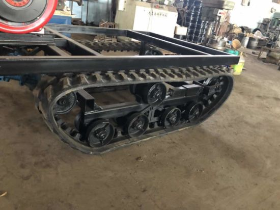 Can Load-Bearing 700kg Chassis/Undercarriage Diesel with Brake pictures & photos