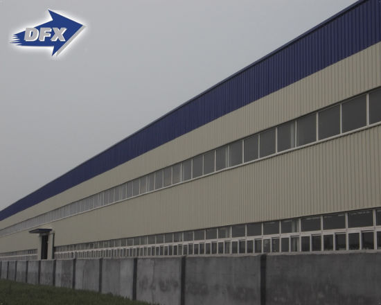 Galvanized Pre Engineering Fabrication Light Steel Structure Warehouse / Workshop
