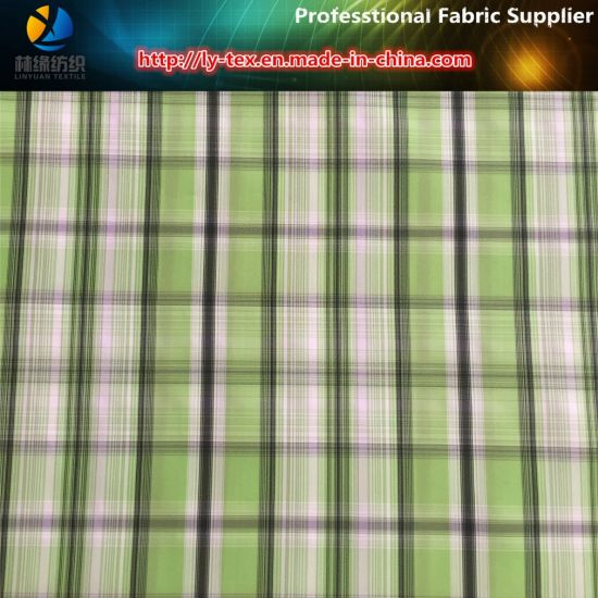 Polyester Memory Yarn Dyed Fabric for Jacket pictures & photos