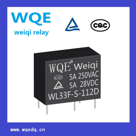 5A Miniature Power Relay for Household Appliances &Industrial Use