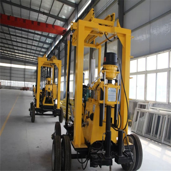 Water Well Rotary Drilling Rig Machine for Sale