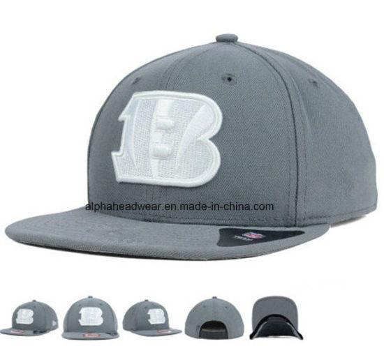 accfd960f3273 China Grey Wool Blend Vintage Snapback Hat Cap Wholesale - China ...
