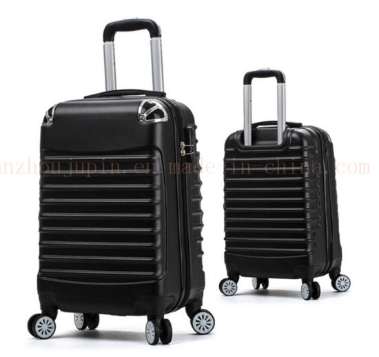 OEM Scratch Proof Wheeled Trolley Suitcase Cases Luggage with Lock pictures & photos