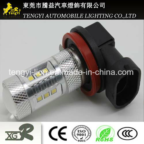 15W LED Car Light Auto Fog Lamp Headlight with H3/H4/H7/H8/H9/H10/H11/H16 Light Socket CREE Xbd Core pictures & photos