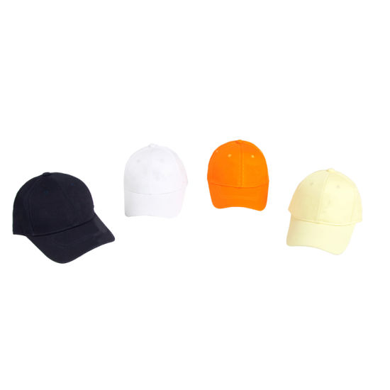 100% Cotton Twill Fabric Custom Made Plain Color 6 Panel Baseball Cap Dad Hat with Embroidery Logo