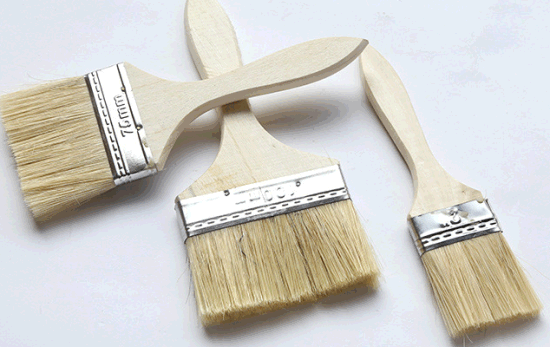 Wood Handles Painting Brush Wall Brush pictures & photos