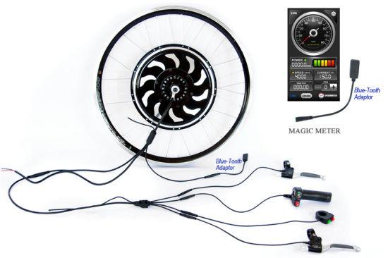 China Bluetooth Golden Motor Magic Pie 5 Hub Motor Electric Bicycle on
