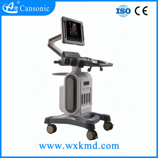 Cansonic Trolly Color Doppler Ultrasound Scanner