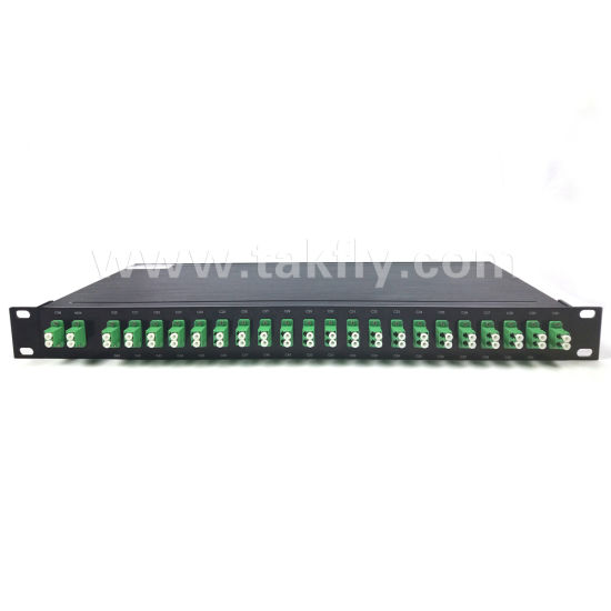 "Mux/Demux Rack 19"" 1u 8 Channel 1270-1610nm CWDM pictures & photos"