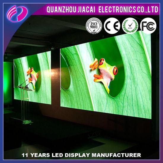 High Resolution P4 Full Color Indoor LED Display for Rental Cabinet