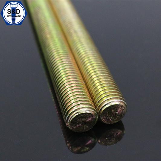 Stud Bolts / Thread Rod A193 B7 Zinc Yellow