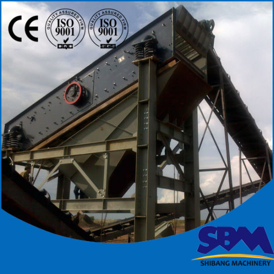 Sbm 2ya1237 Low Price Sand Vibrating Screen pictures & photos