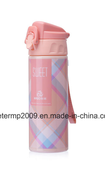 600ml Unique Design Hot Sale Promotional Water Bottle, Yllow Water Bottle Custom pictures & photos