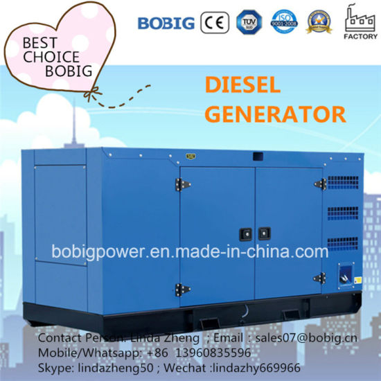 400kw 500kVA Silent Canopy Open Generator with Chinese Kangwo Engine pictures & photos