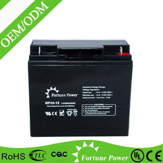 Maintenance Free 6 Dzm 20 Gel Battery Price pictures & photos