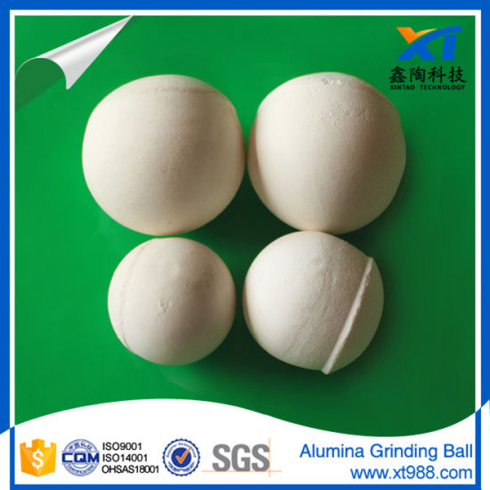 Alumina Grinding Ball with High Density & High Hardness pictures & photos
