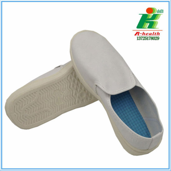 ESD PVC Shoe (LH-122-5) , Antistatic Working Shoes in Cleanroom Use