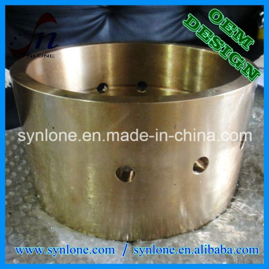 CNC Machining Process Brass Bushing pictures & photos