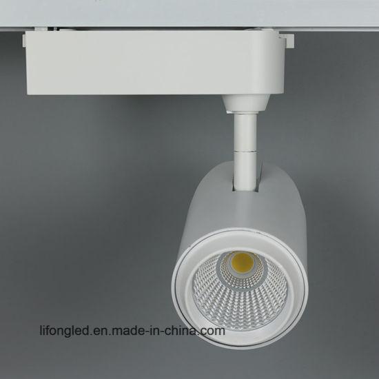 china europe standard gallery 3 phase cob led track lighting china