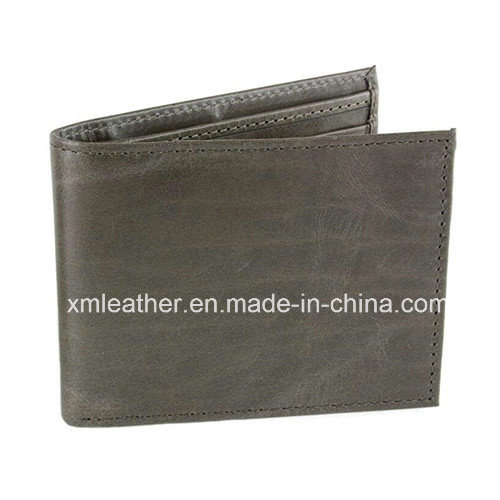 Fashion Design Short Men Business PU Leather Wallet Bill Wallets pictures & photos