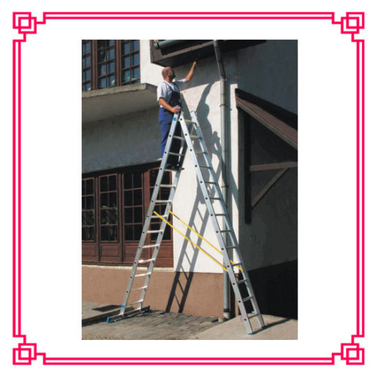 out Door Aluminum Extension Multi-Function Ladder Folding aluminium Ladder Parts pictures & photos