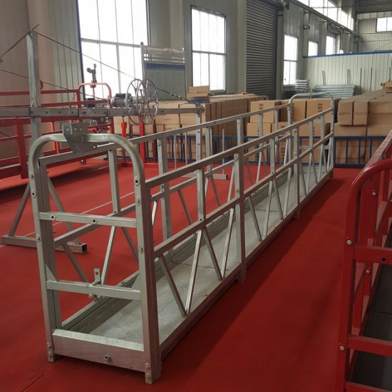 Construction Hanging Scaffolding Zlp 800 Suspended Working Platform